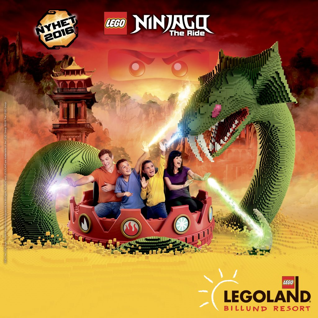 LEGO, the LEGO logo, the Brick and Knob configurations, the Minifigure, NINJAGO and LEGOLAND are trademarks of the LEGO Group. ©2016 The LEGO Group.