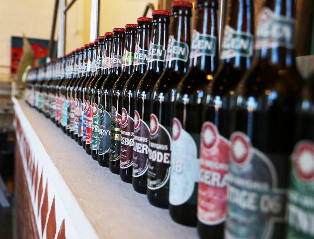 Lokalt brygg: Skagen Bryghus brygger rundt 300.000 liter øl i året, fordelt på rundt 40 øltyper.