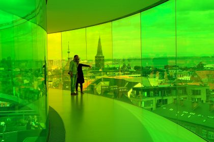 ARoS: Aarhus fantastiske kunstgalleri, ARoS. Man forlater ikke byen før man har avlagt et besøk. Foto: Fjord Line
