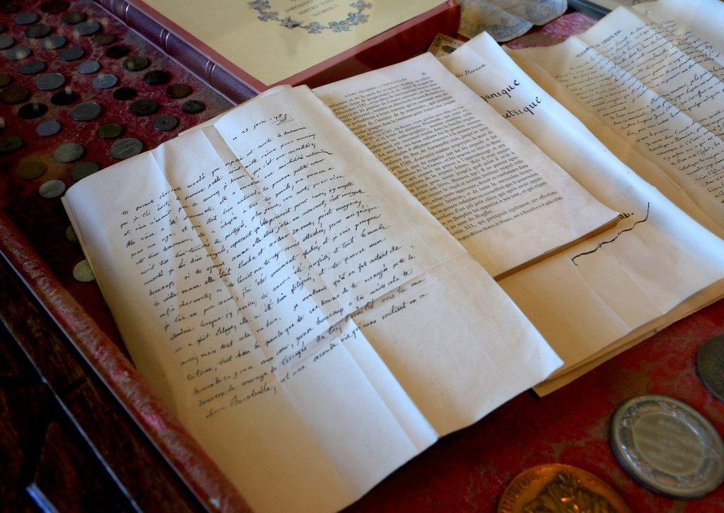 Marie-Antoinettes avskjedsbrev, skrevet to dager før hun ble henrettet. Europeisk historie på sitt ypperste ligger til skue 40 kilometer nord for Aalborg. Foto: Flemminbg H. Tveitan/Fjord Line