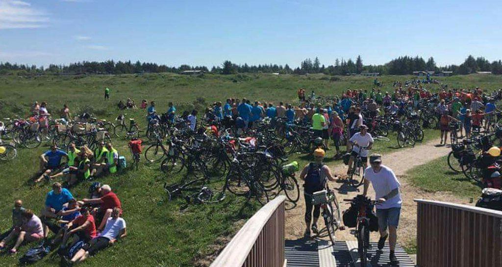 Sykkelturen fra Hirtshals til Skagen er populær blant mange.