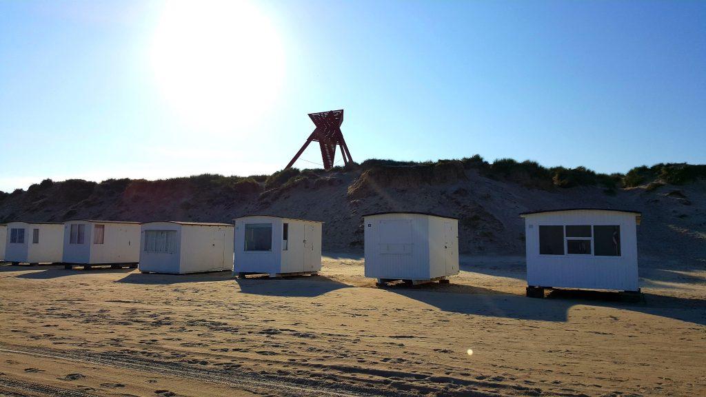 stranda ved Strandhotellet Blokhus