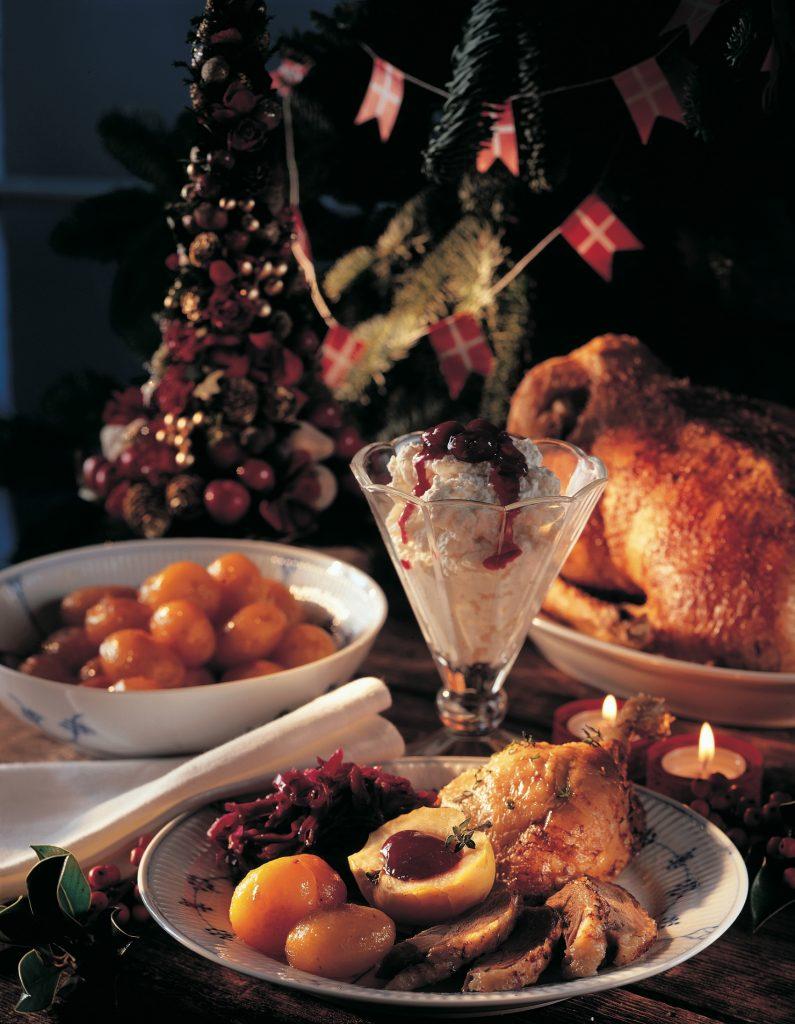 dansk jul - julemat