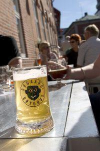 Tørst: Søgaards Bryghus er ett av seks stoppesteder på Aalborgs berømte «Beerwalk».