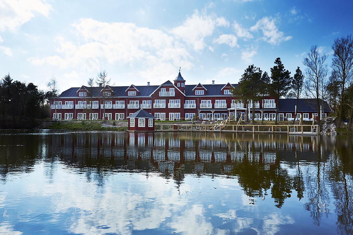 Fire stjerner: Hotel Fårup hadde første sesong i 2016.