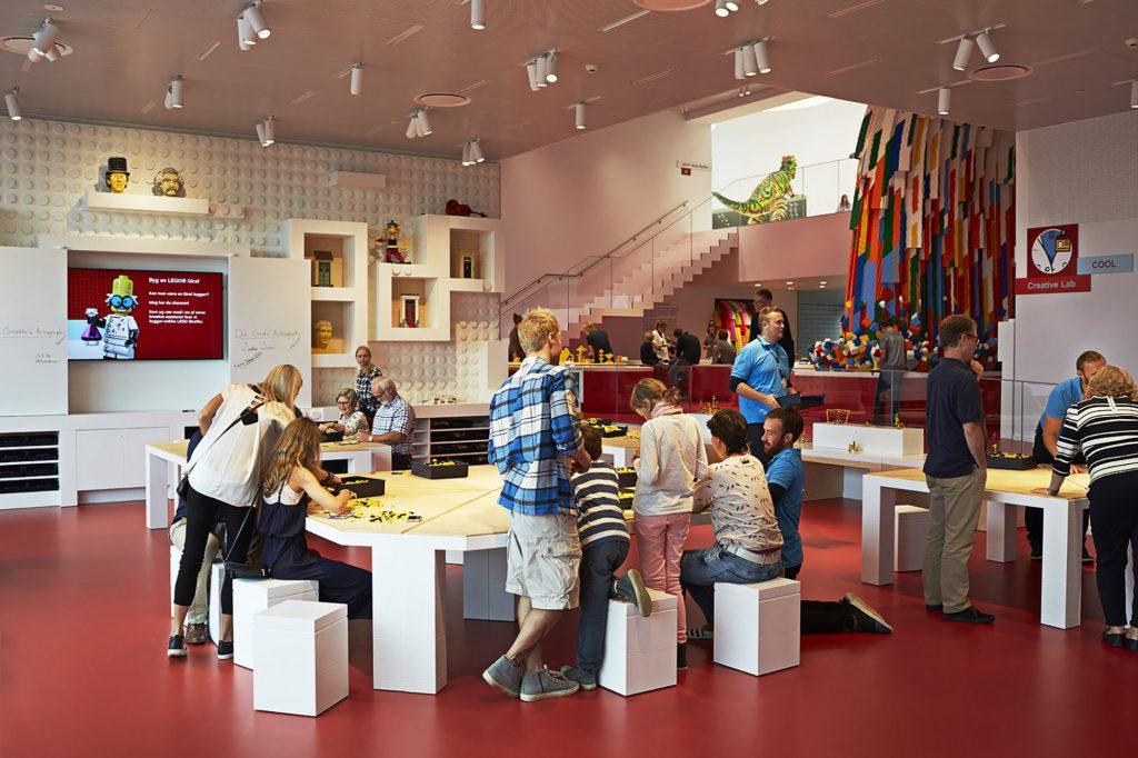 Stimulerende: Lego House har som formål å stimulere barns nysgjerrighet og kreativitet. Foto: LEGO